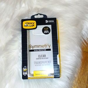 NIB Otterbox Phone Case Clear Symmetry Galaxy S10+